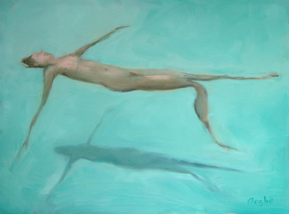 """Floating"" original fine art by Angela Ooghe"