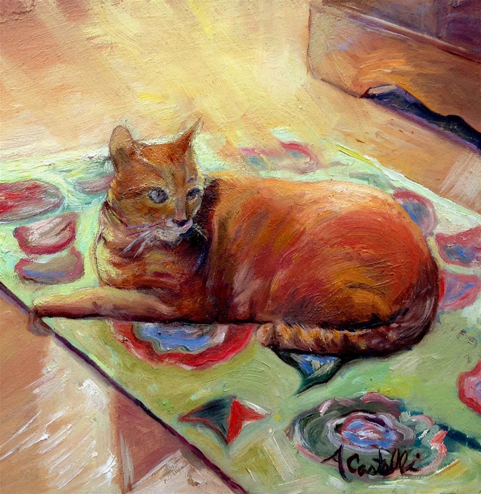 """Sunday Morning"" original fine art by Anna Castelli"