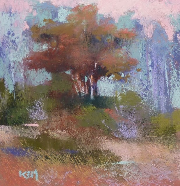 """How to Avoid a Plein Air Nightmare"" original fine art by Karen Margulis"