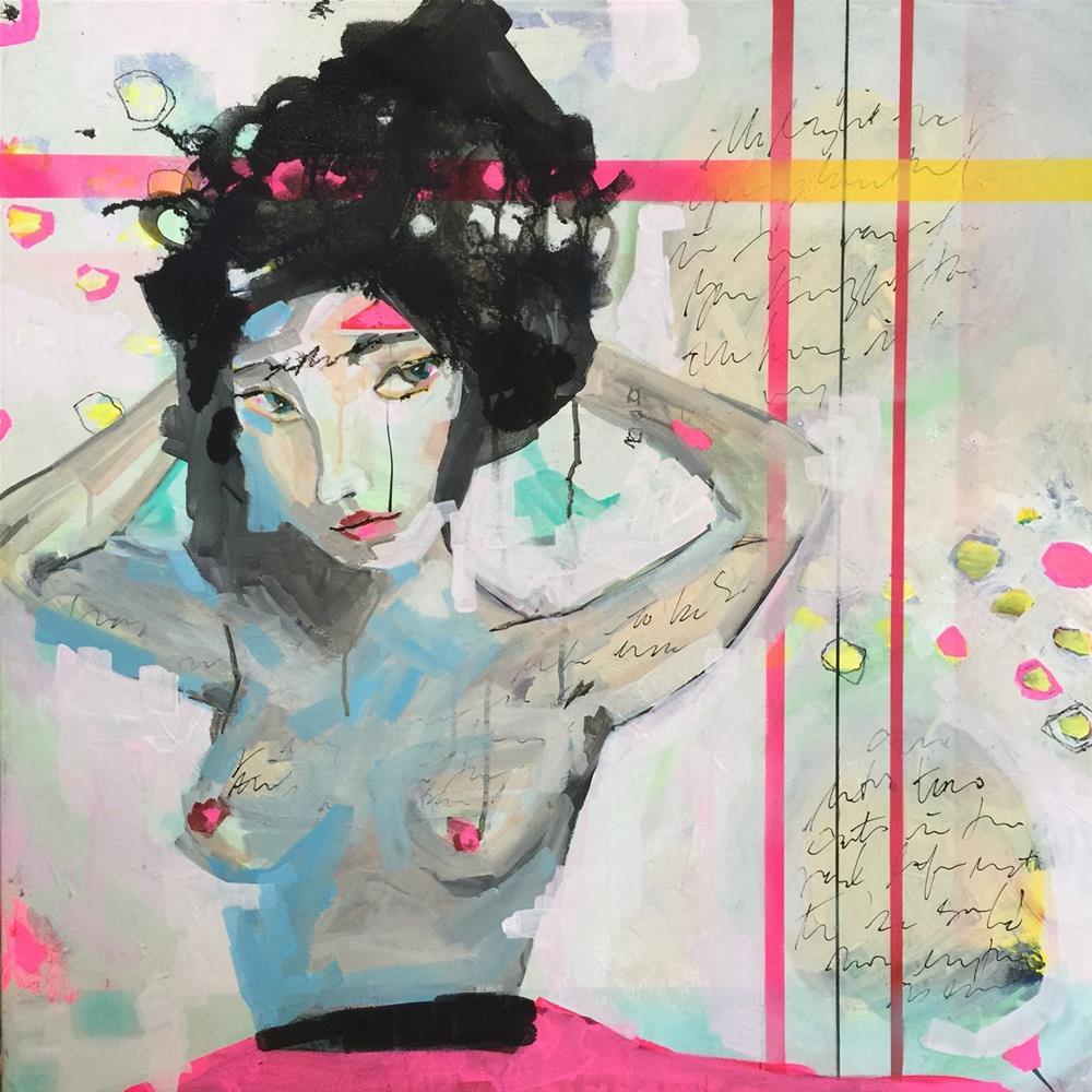 """""""264 Up Draft"""" original fine art by Jenny Doh"""