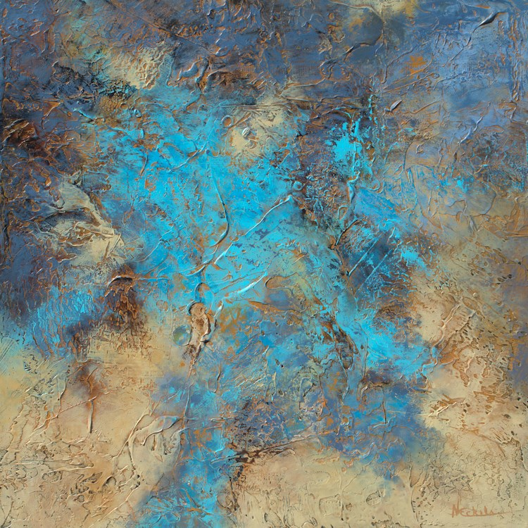 """Oasis"" original fine art by Nancy Eckels"
