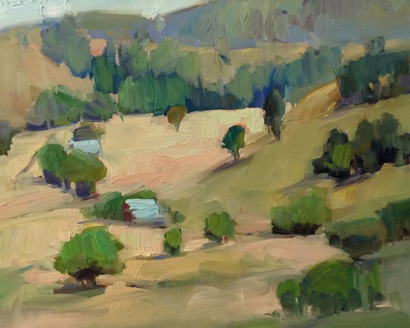 """""""Mile Marker 3"""" original fine art by Patti McNutt"""