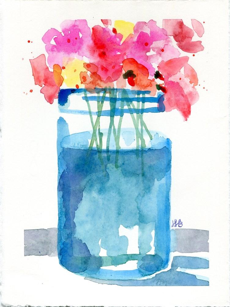 """It's About the Jar"" original fine art by Heather Bennett"