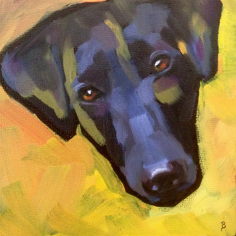 """Kimmie"" original fine art by Philla Barkhorn"
