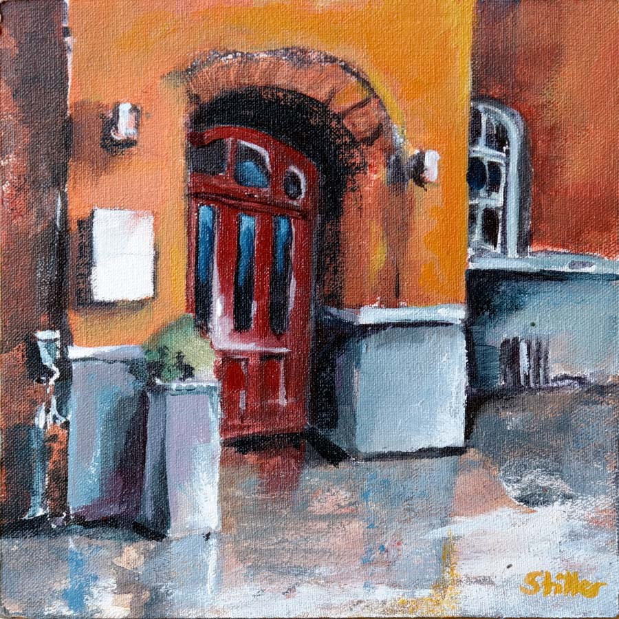 """2165 Guest House"" original fine art by Dietmar Stiller"