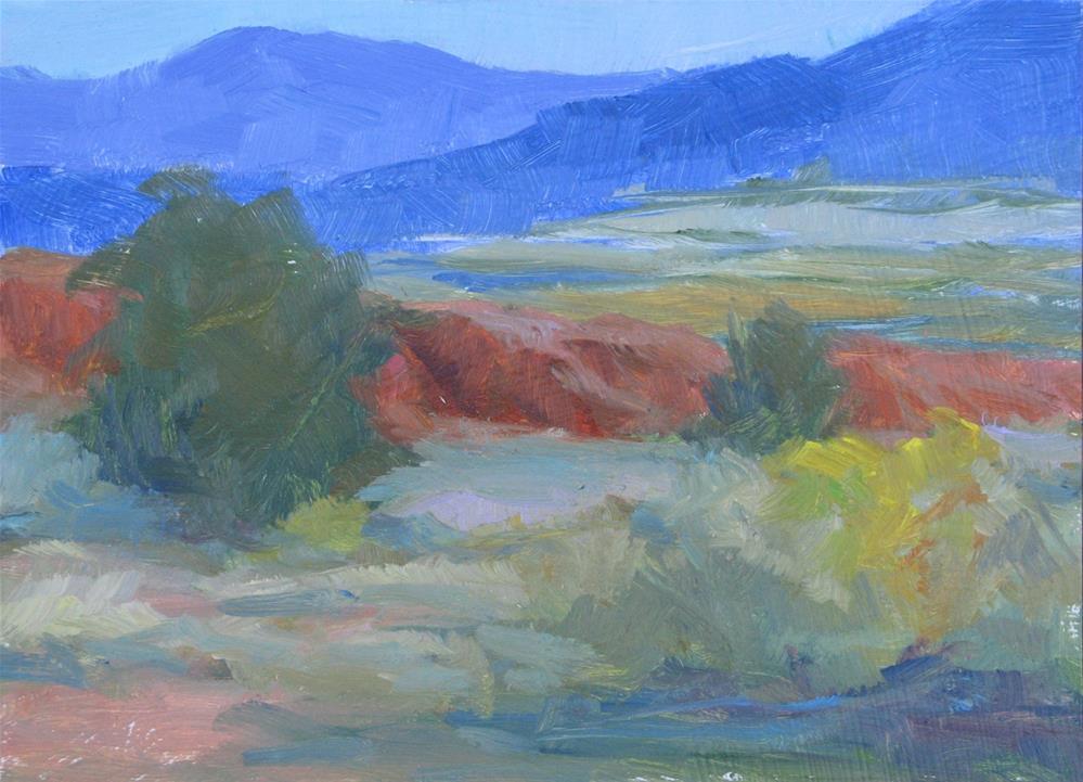 """Ghost Ranch View"" original fine art by Marsha Savage"