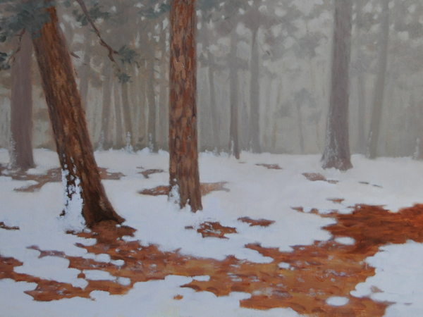 """Quietude"" original fine art by Susan Matteson"