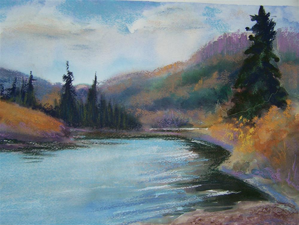 """On the Way to Westport"" original fine art by Joan Reive"