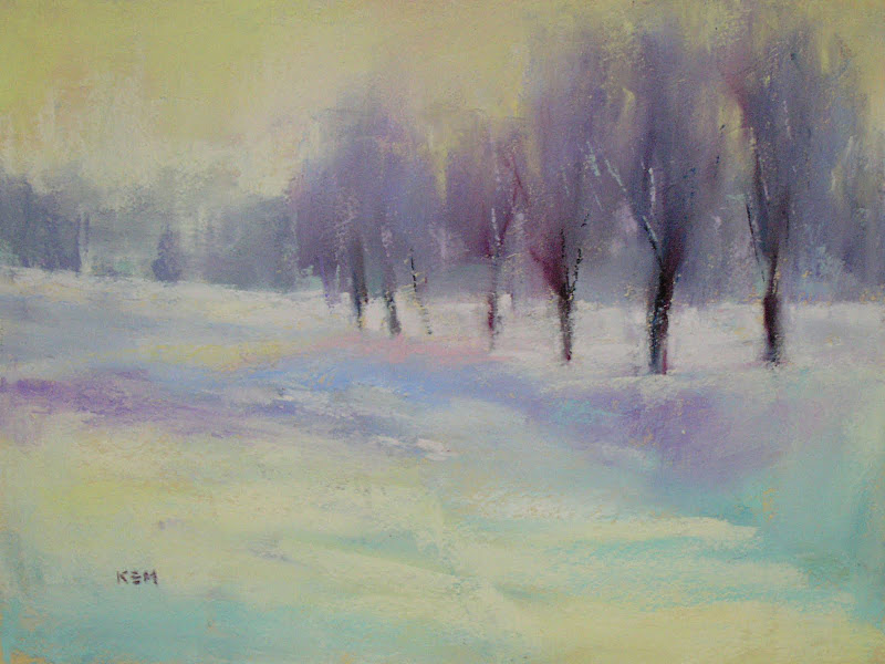 """Tips for Painting Small with Pastels"" original fine art by Karen Margulis"