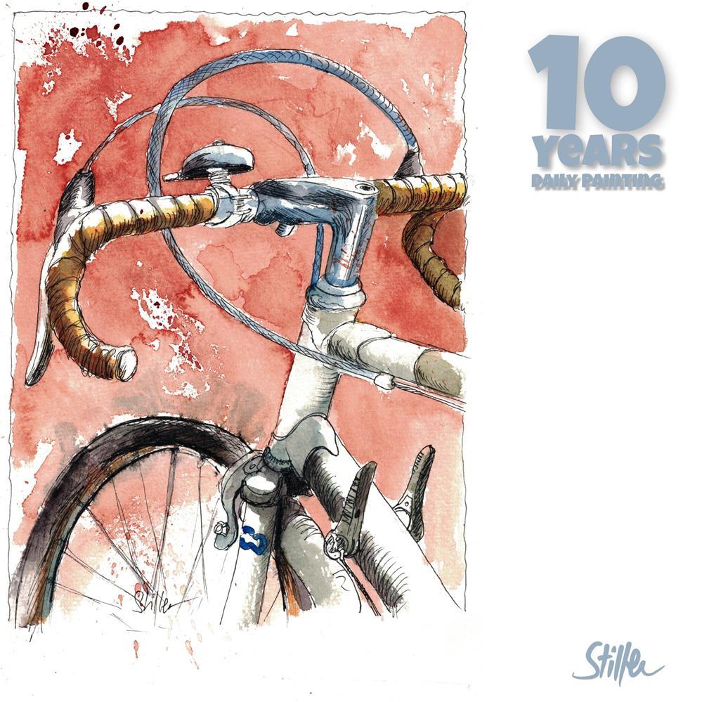 """3668 Third Bike"" original fine art by Dietmar Stiller"