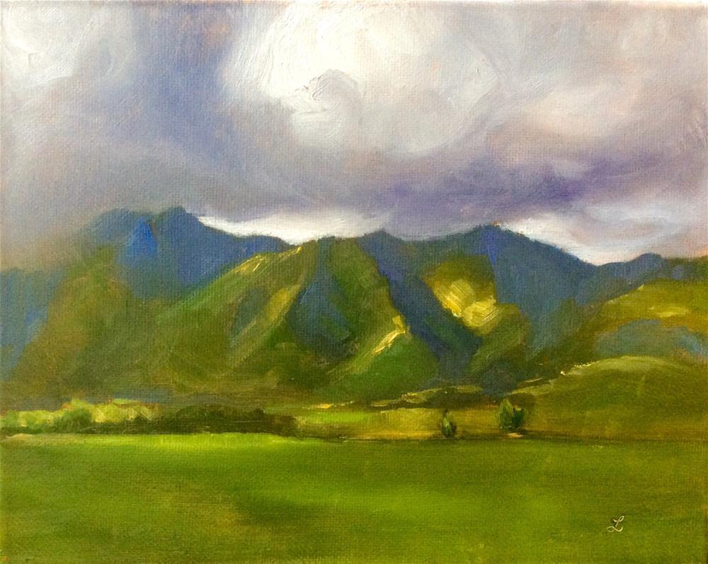 """Landscape 7"" original fine art by Lori Jacobs - Farist"