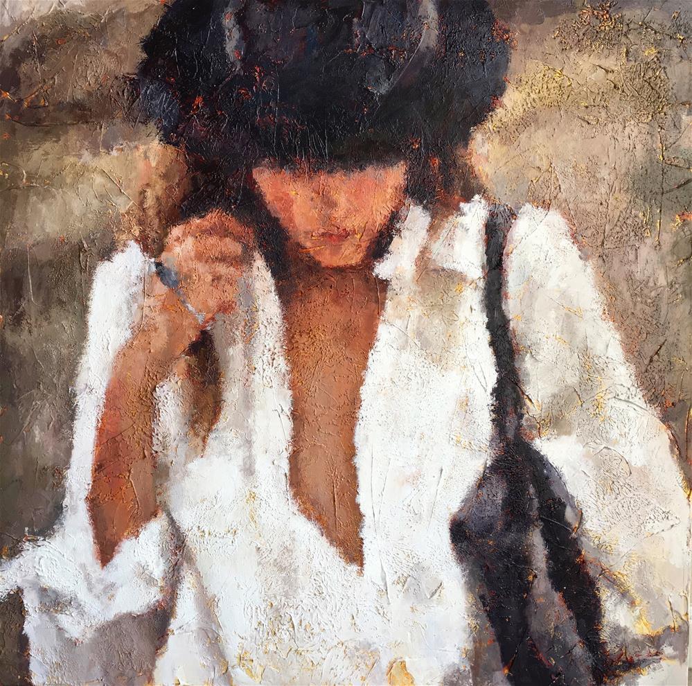 """Wanderlust"" original fine art by Nava Judith"