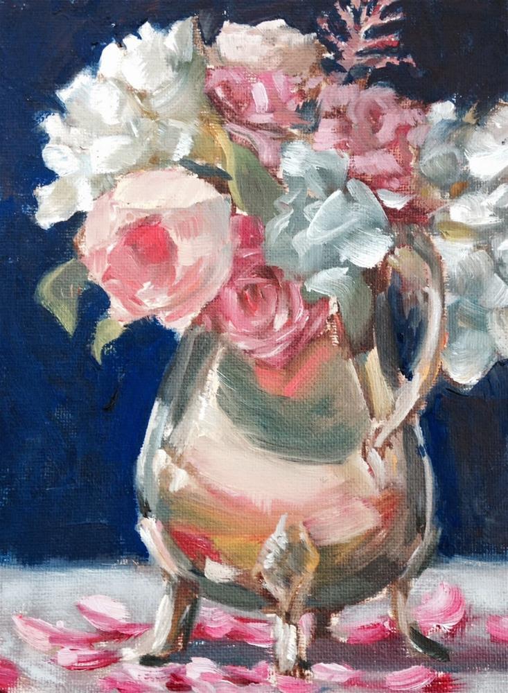 """Romance, 8x6 Inch Oil Painting by Kelley MacDonald"" original fine art by Kelley MacDonald"