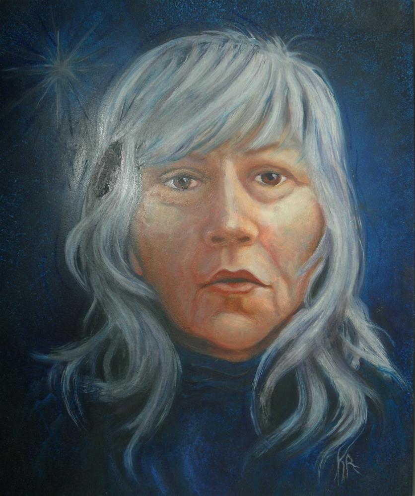 """""""Just Me"""" original fine art by Karen Roncari"""