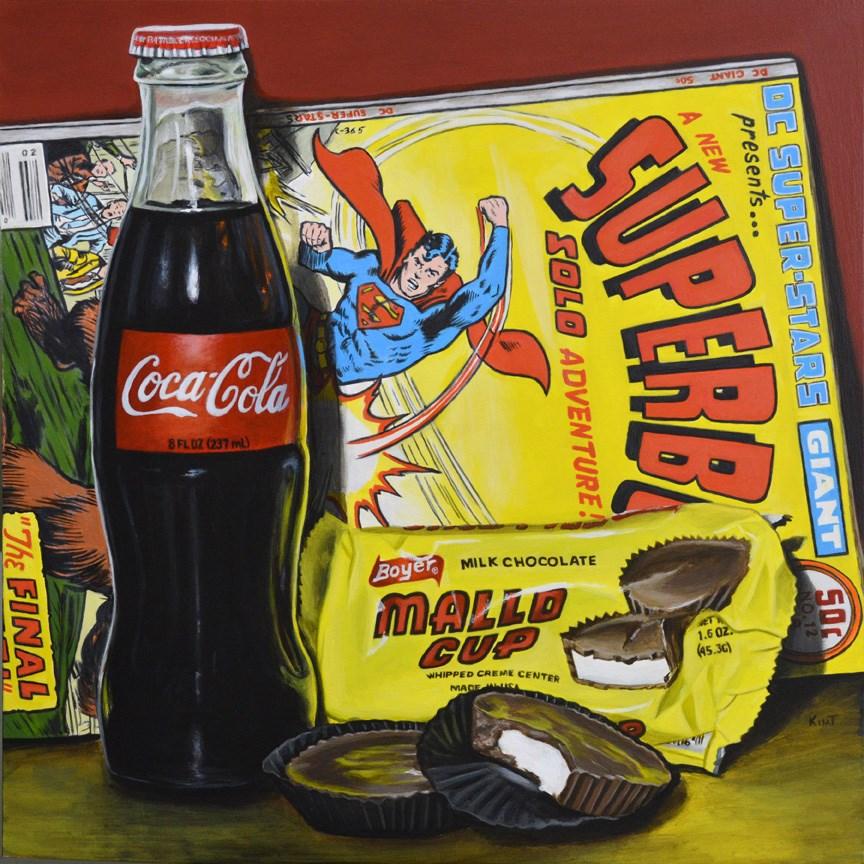 """""""Solo Adventure"""" original fine art by Kim Testone"""