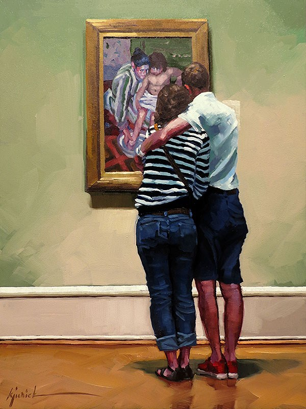 """Object of My Affection"" original fine art by Karin Jurick"