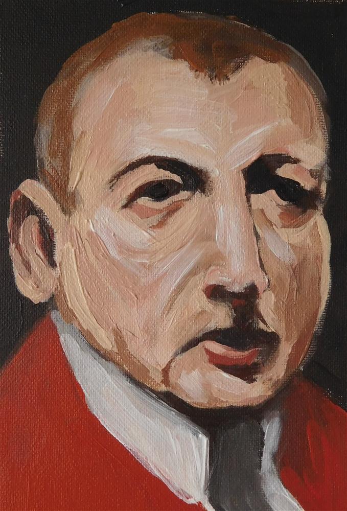 """""""Zorn portrait"""" original fine art by Daryl West"""
