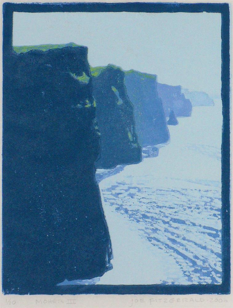 """""""Moher III"""" original fine art by Joe Fitzgerald"""