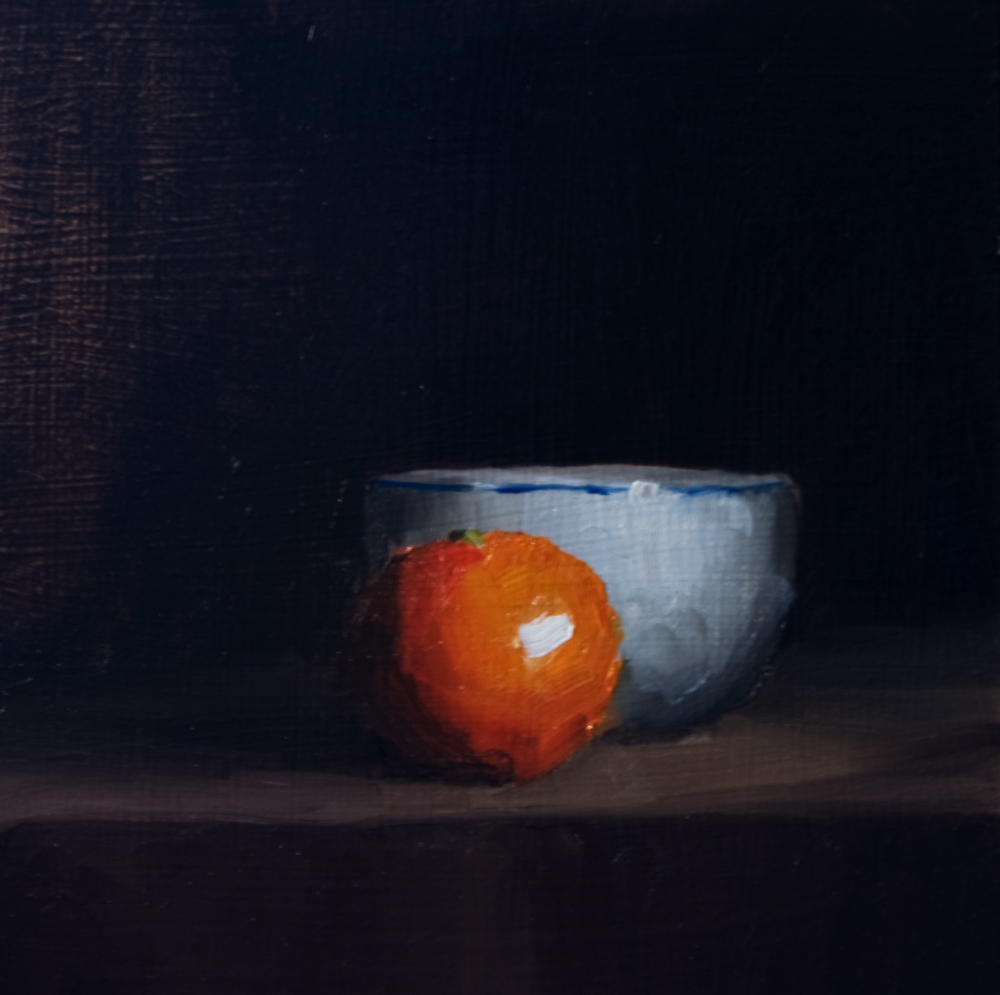 """Clementine and Bowl"" original fine art by Neil Carroll"