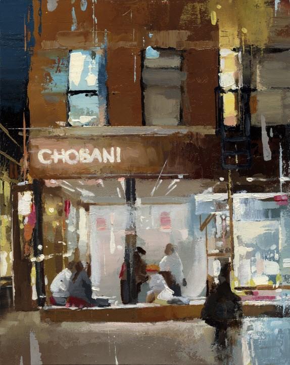"""Chobani-II"" original fine art by Victor Bauer"