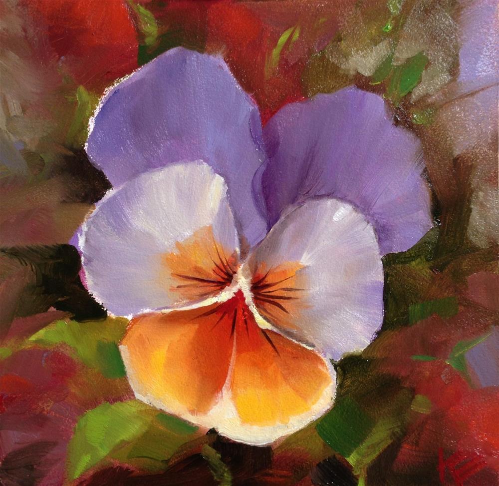 """""""Gentle Bloom"""" original fine art by Krista Eaton"""