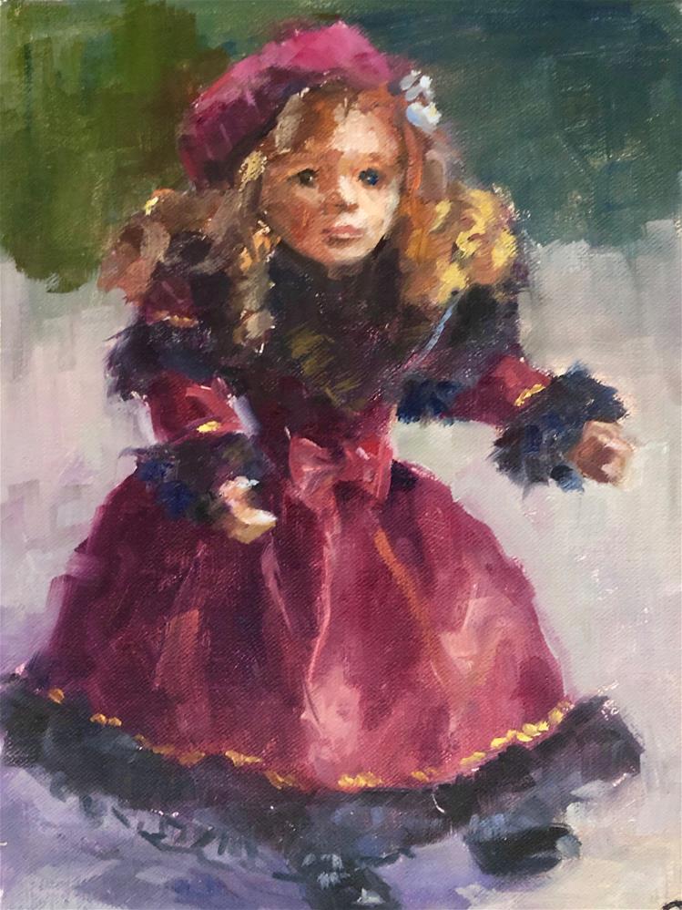 """Lara - A Doll"" original fine art by Olga Hegner"