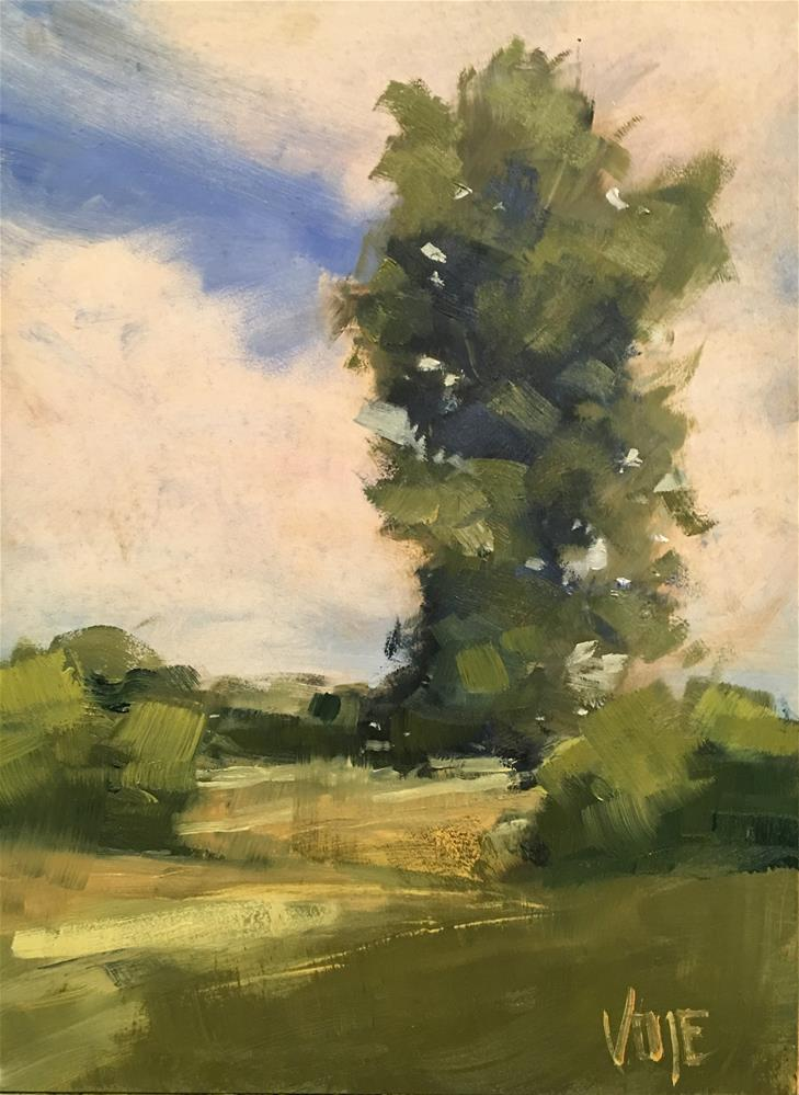 """#381 Afton Afternoon"" original fine art by Patty Voje"