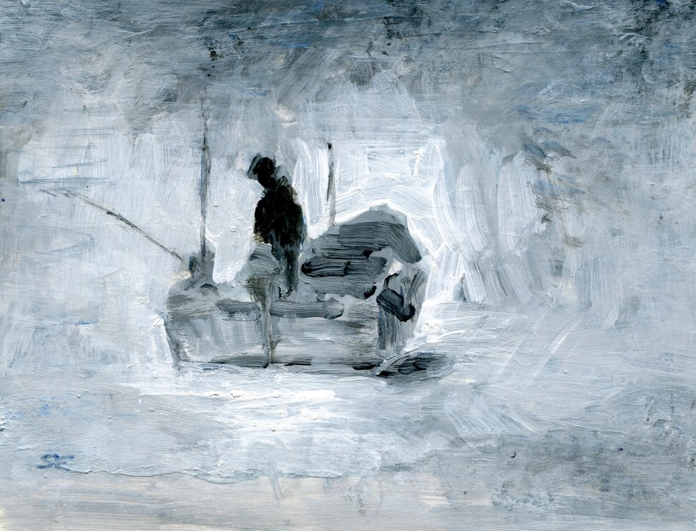 """Foggy Notion"" original fine art by Stanley Epperson"