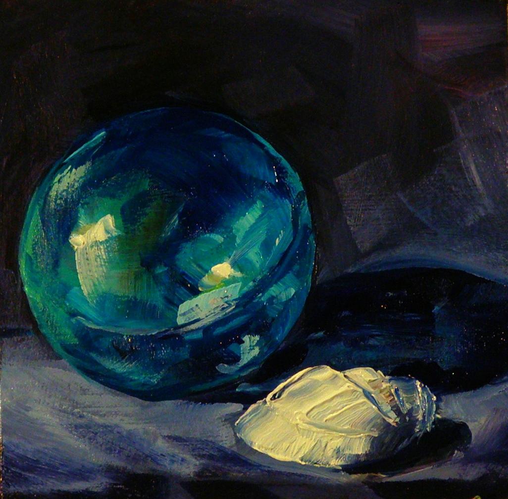 """""""SEA TREASURES"""" original fine art by Brian Cameron"""