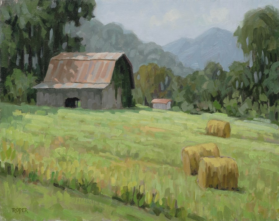 """DAY 26: Early Summer"" original fine art by Stuart Roper"