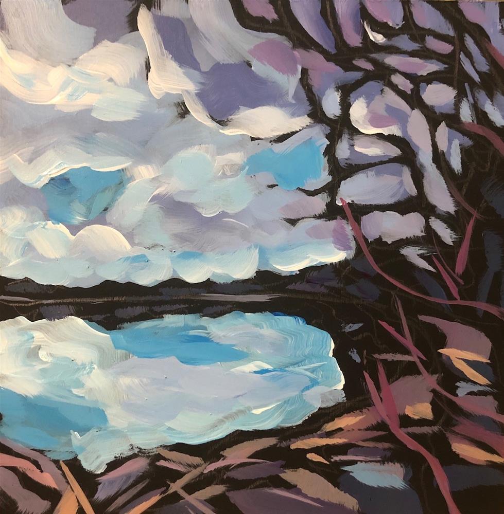 """Hiawatha Yesterday"" original fine art by Kat Corrigan"