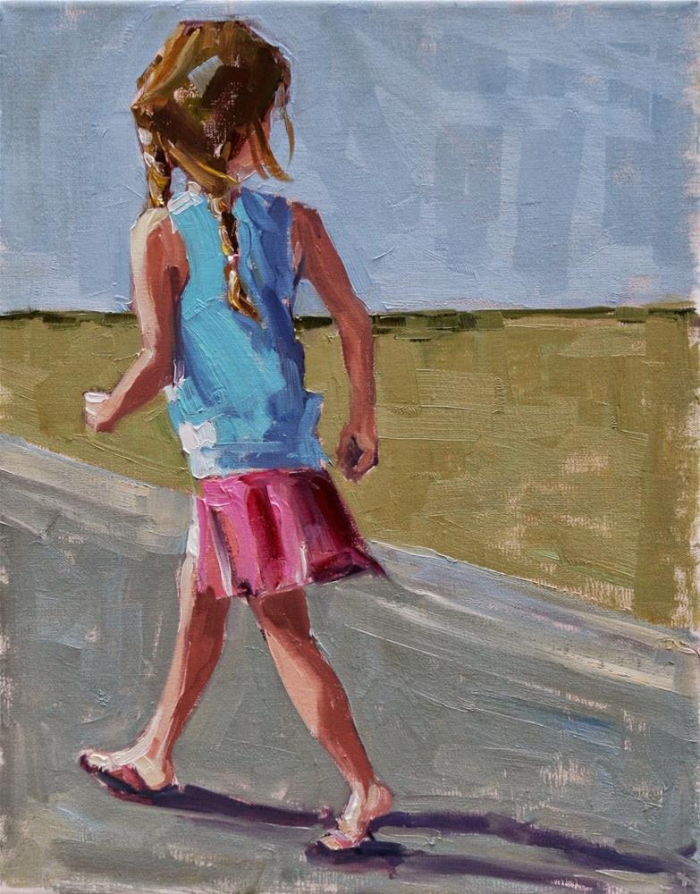 """""""giddy up"""" original fine art by Carol Carmichael"""