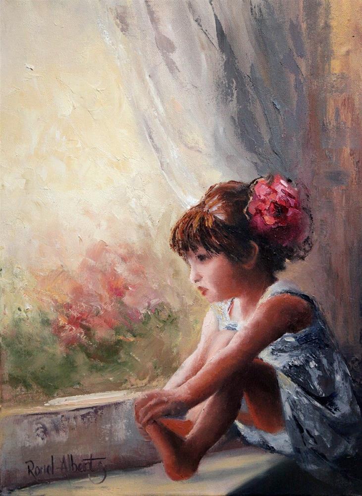 """""""Dreamer"""" original fine art by Ronel Alberts"""