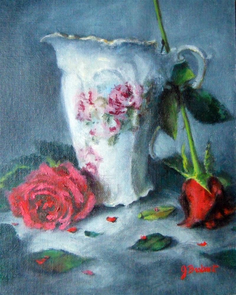 """The White Chocolate Pot"" original fine art by Jill Brabant"