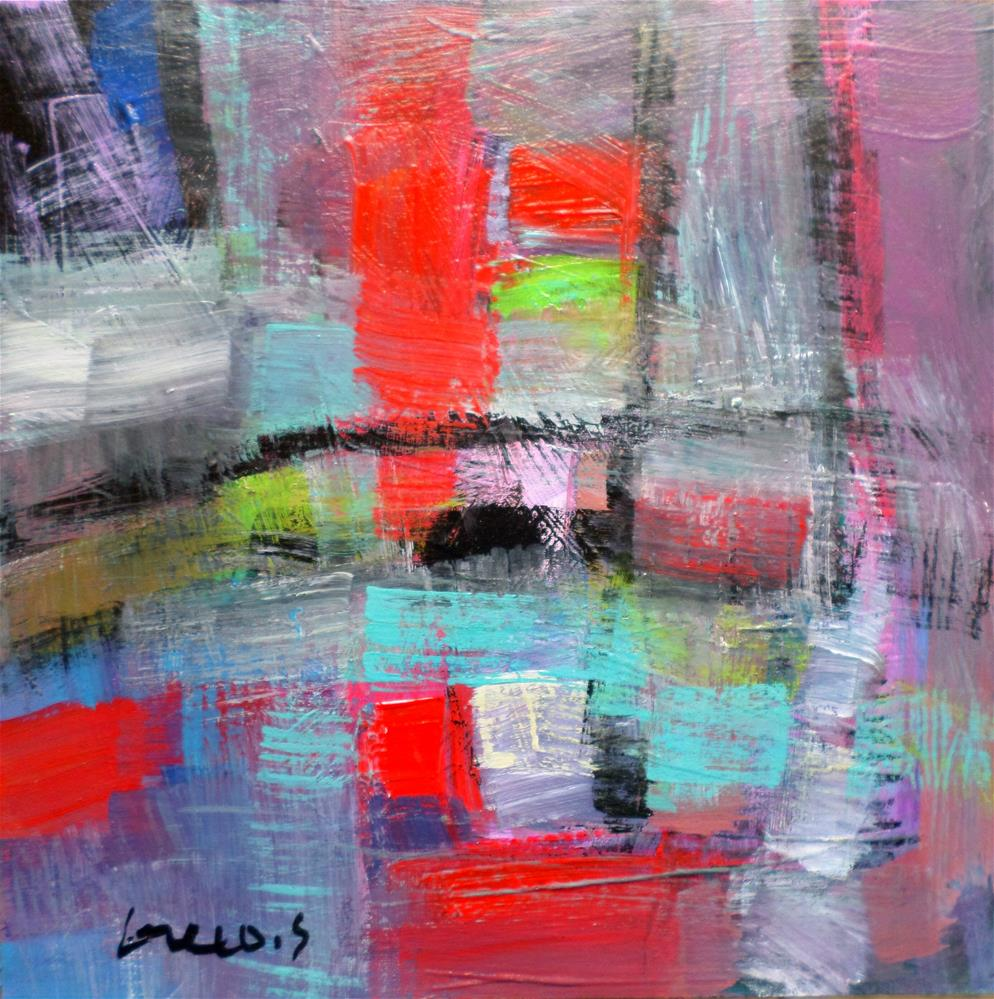"""ABSTRACT"" original fine art by salvatore greco"
