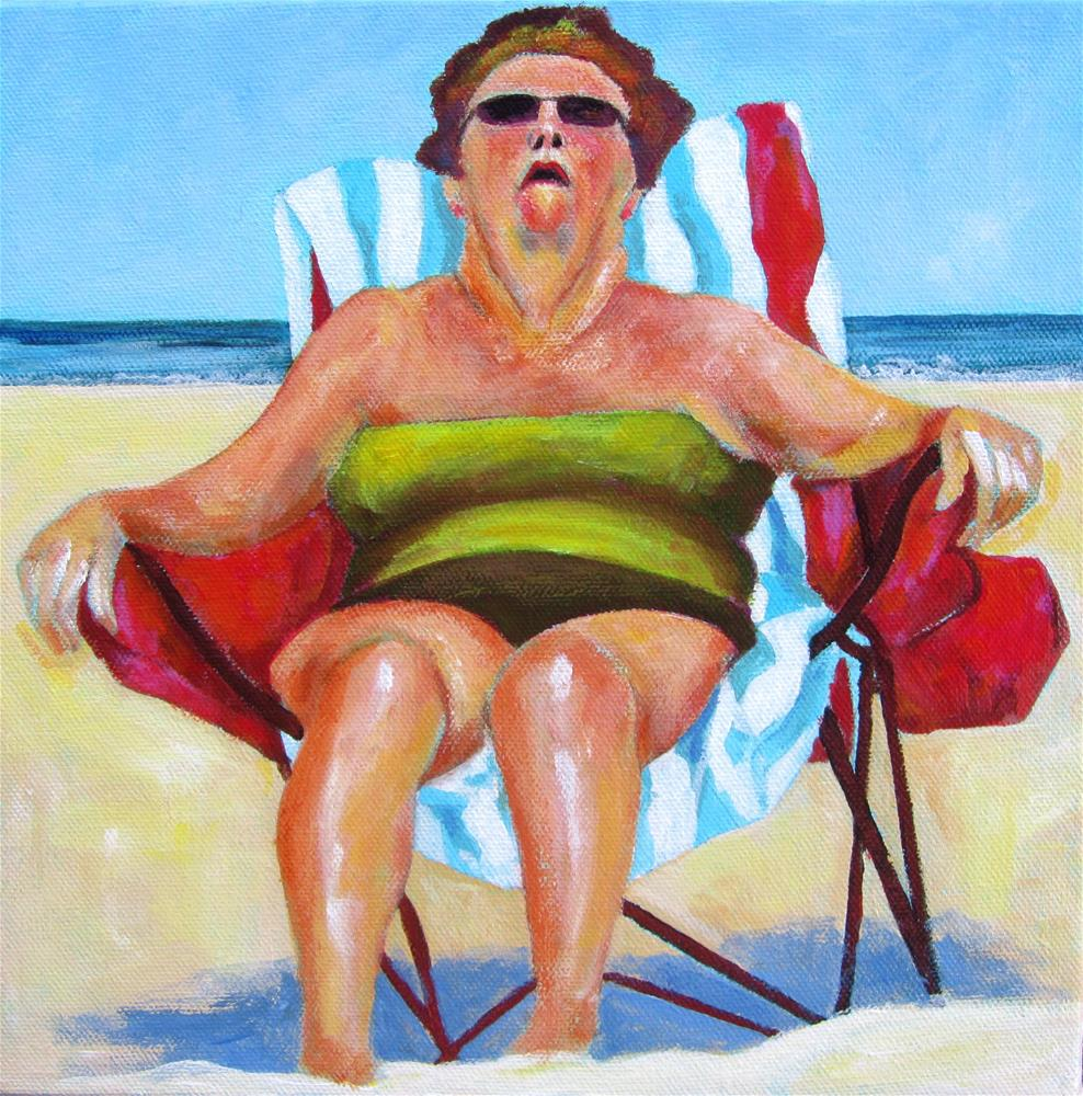 """Her Siesta"" original fine art by Patricia MacDonald"