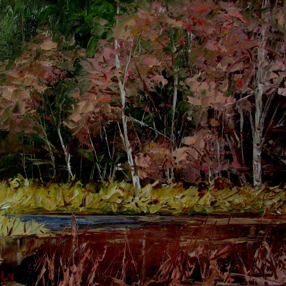 """8 x 8 inch oil"" original fine art by Linda Yurgensen"