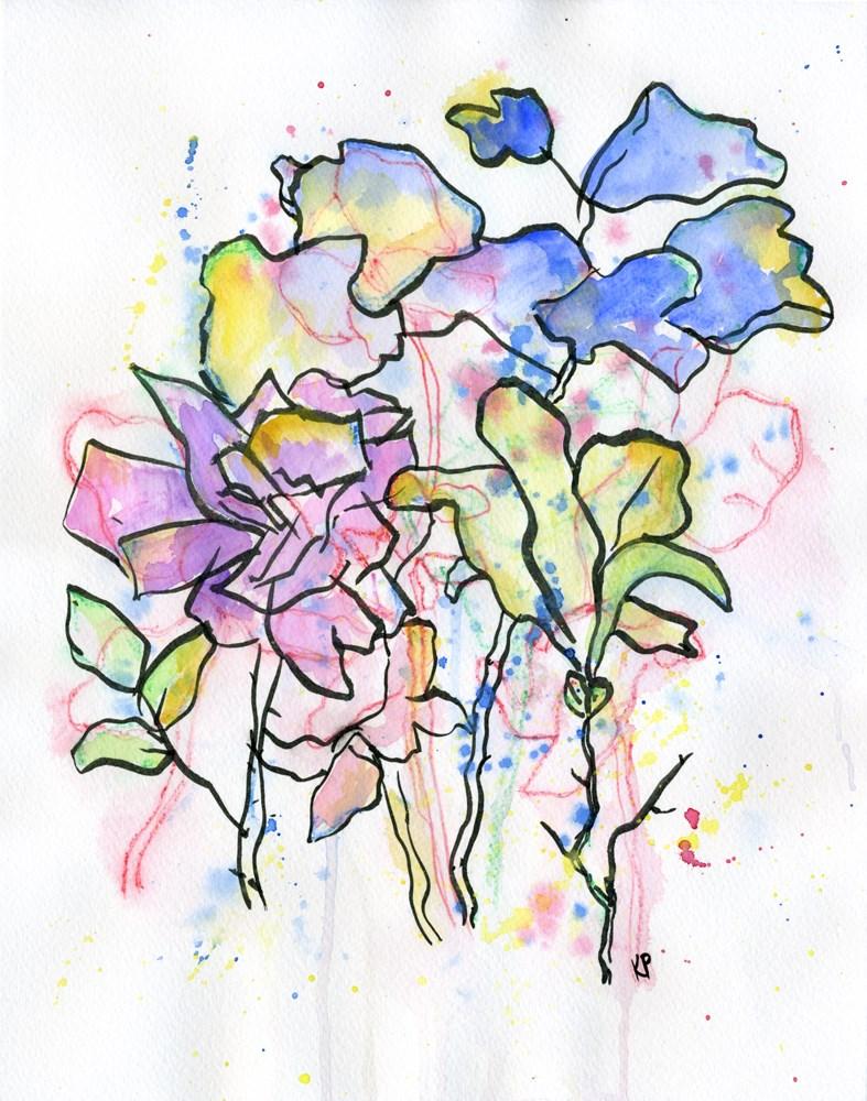 """Dreamy"" original fine art by Kali Parsons"