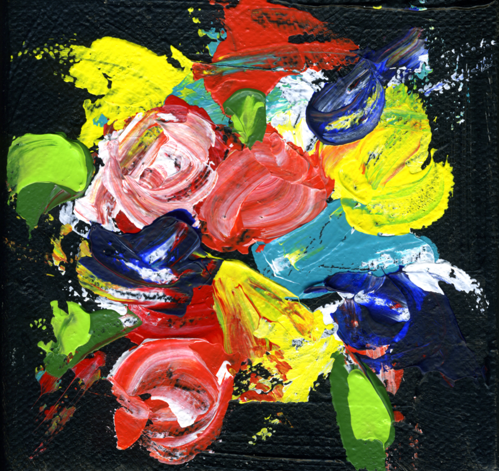 """""""Flowers Bring Color to our World"""" original fine art by Kali Parsons"""