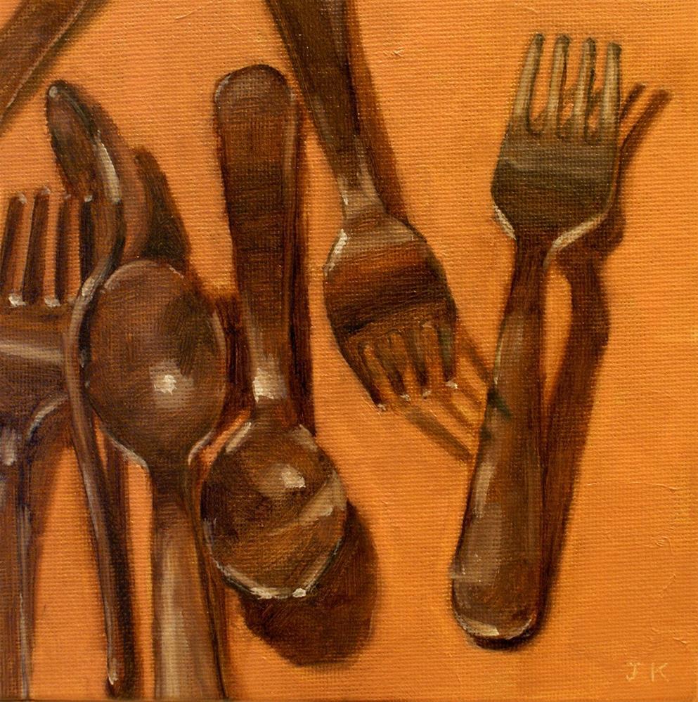 """After Dishwashing"" original fine art by Jiyoung Kim"