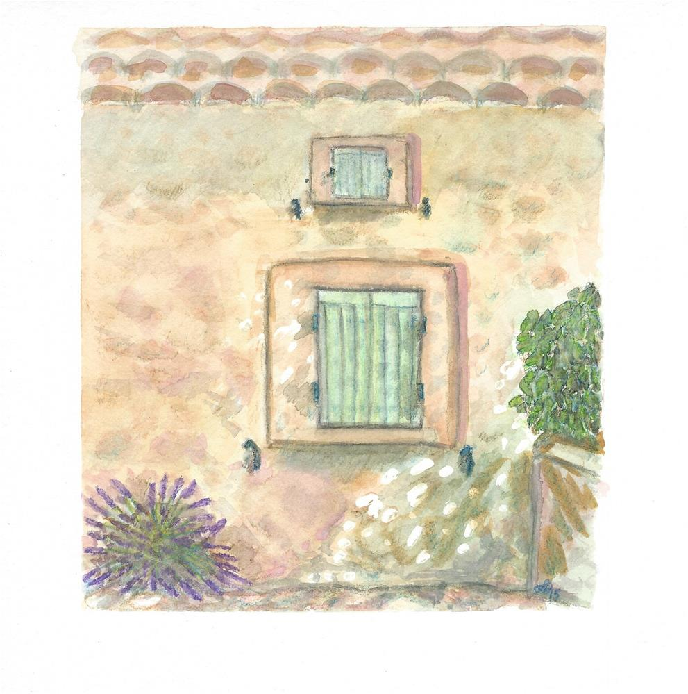 """""""Window to Provence, France"""" original fine art by Laura Denning"""