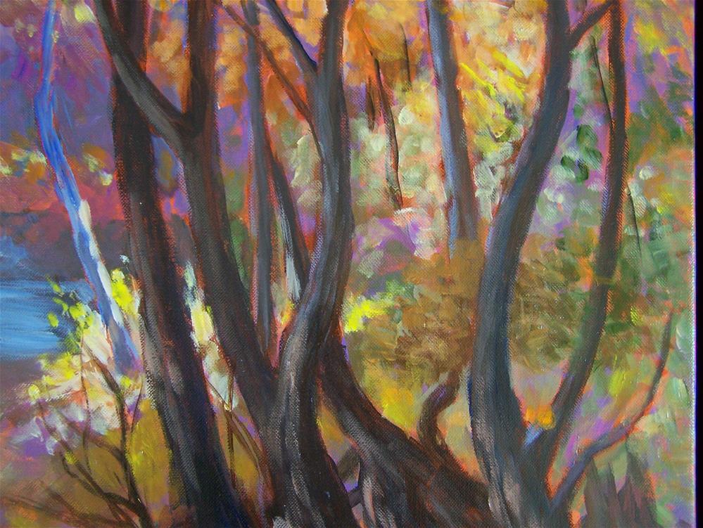 """""""Morrison's Woods"""" original fine art by Joan Reive"""
