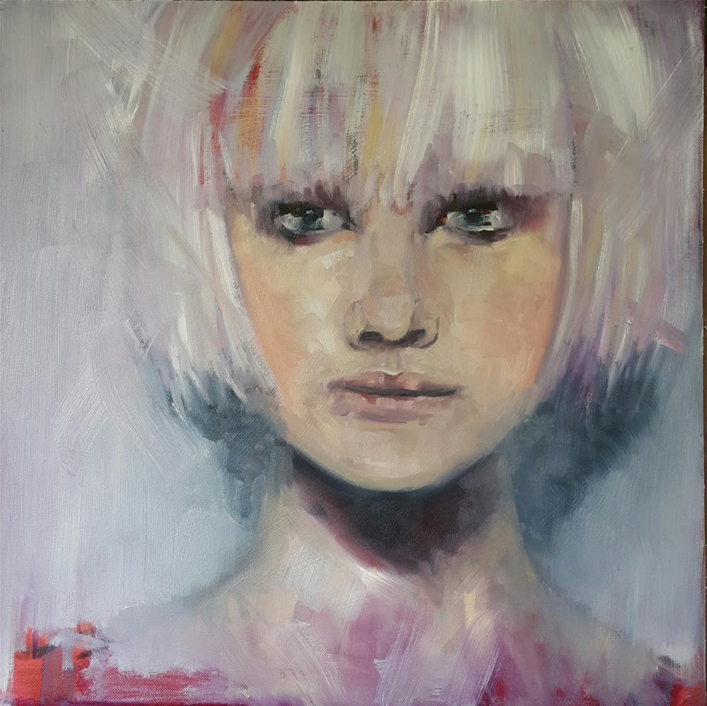 """this is me"" original fine art by Rentia Coetzee"