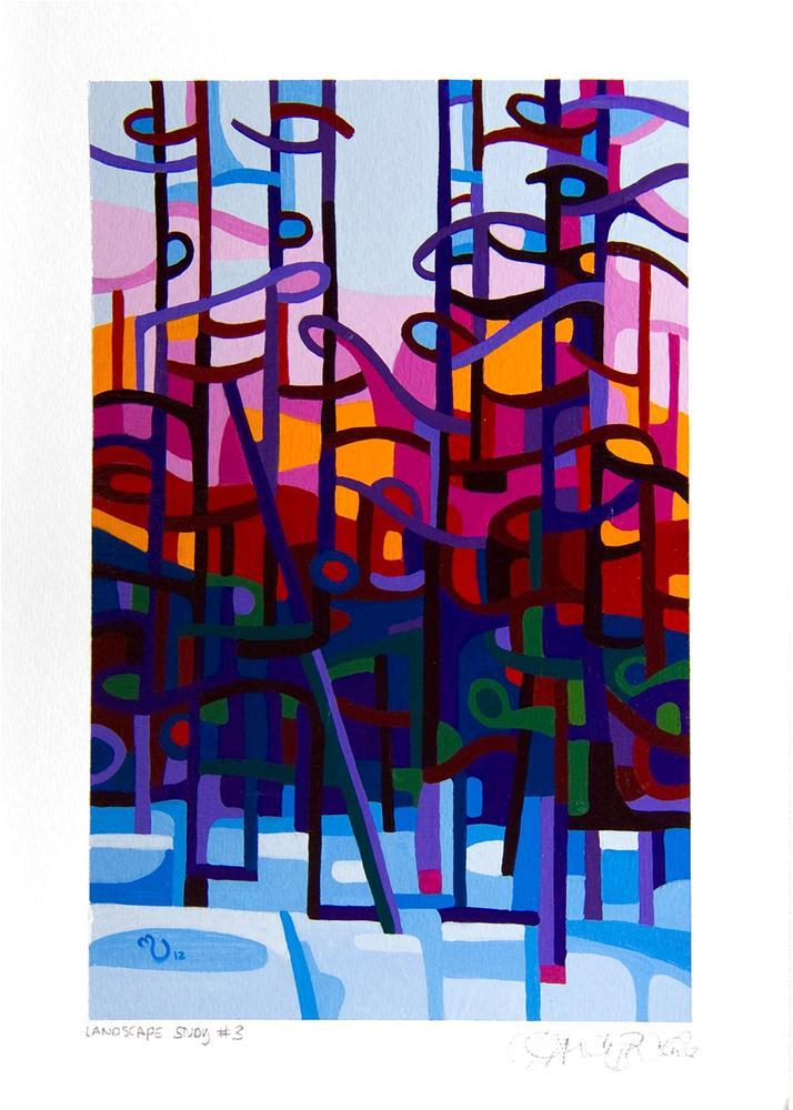 """Landscape Study #3"" original fine art by Mandy Budan"