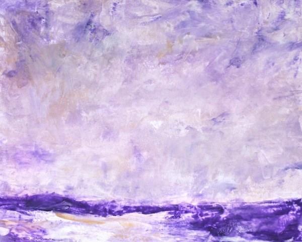 """""""Across The Channel"""" original fine art by Jana Johnson"""