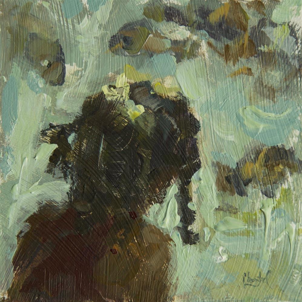 """Fish"" original fine art by Chantel Barber"