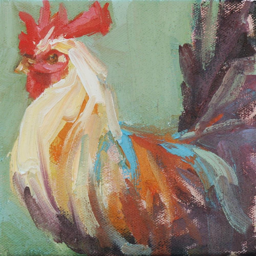 """his haughtiness"" original fine art by Carol Carmichael"