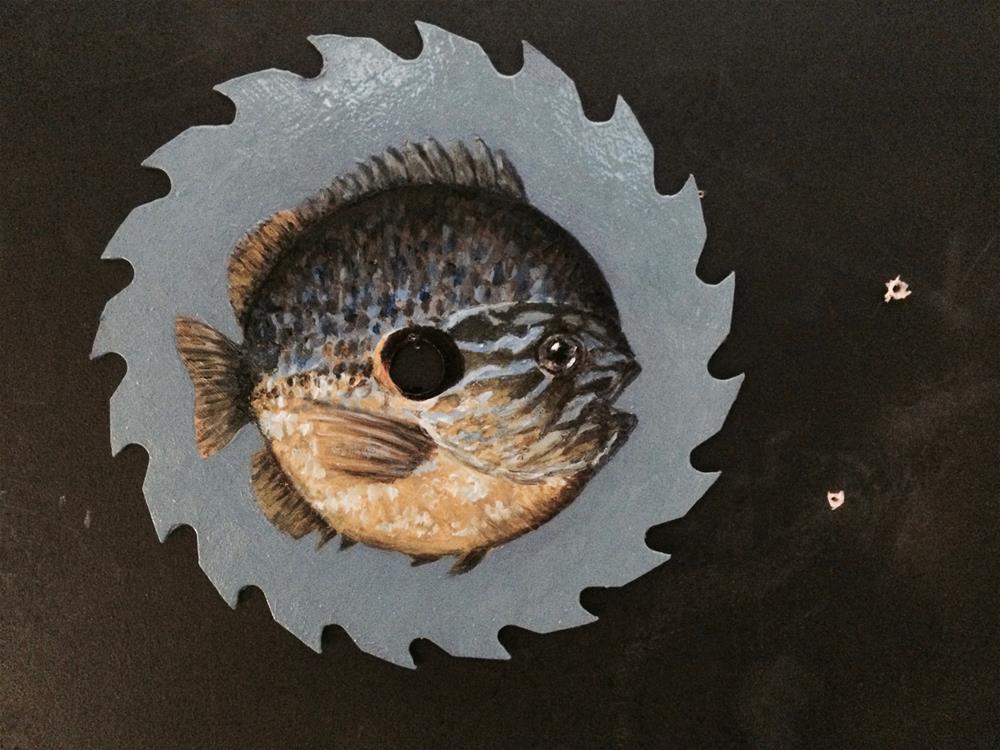 """""""Sawfish"""" original fine art by Paul Zarza"""