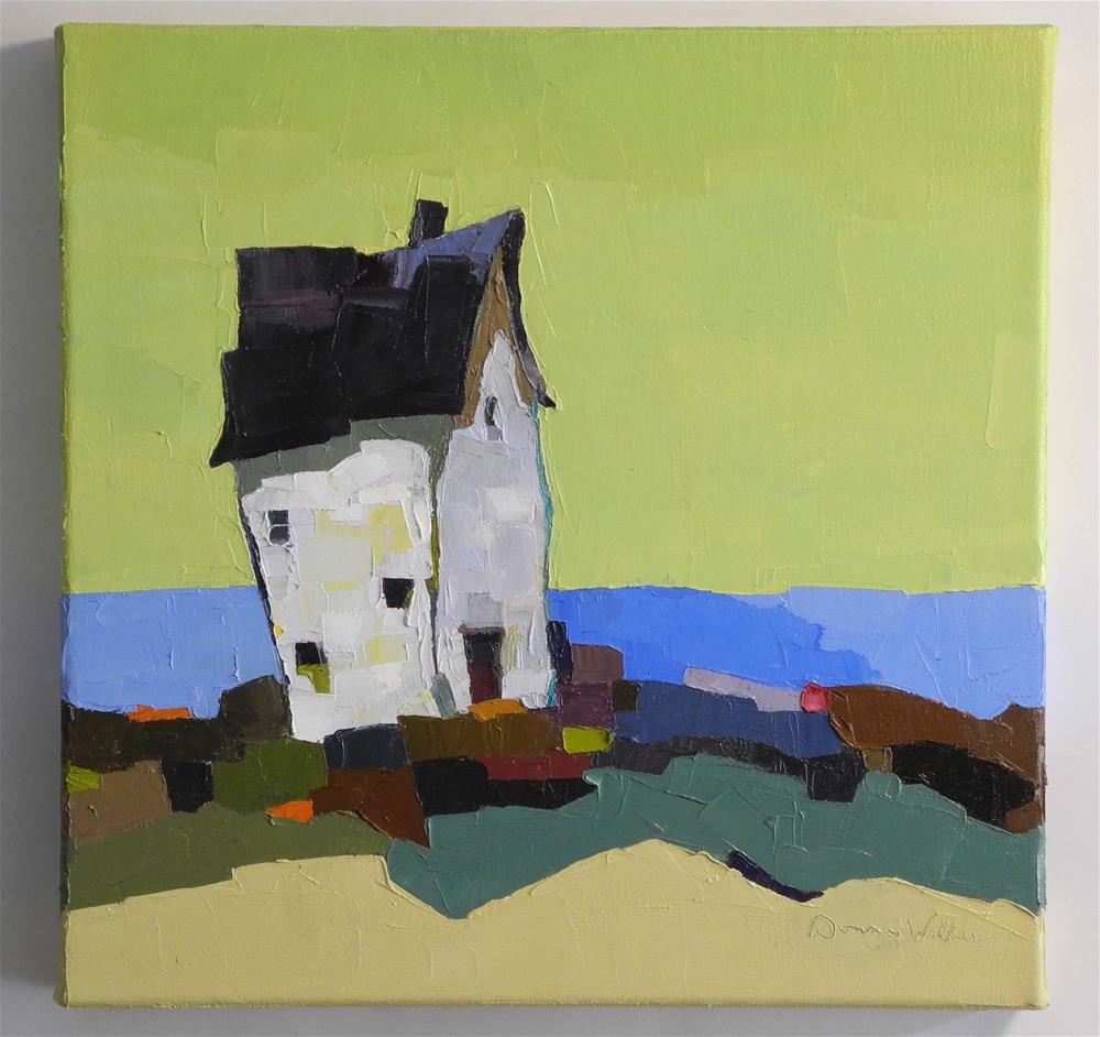 """The Silent Sea"" original fine art by Donna Walker"