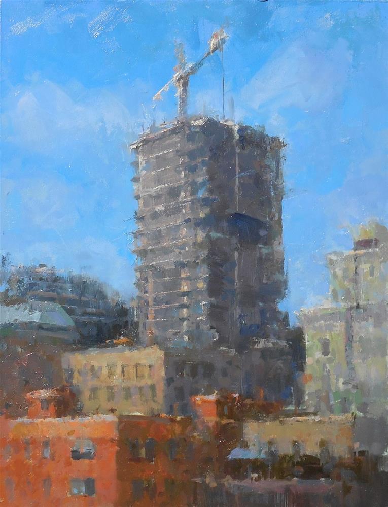 """Toronto Condos"" original fine art by Michael Pieczonka"